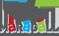 Logotip de l'Associació i Professionals de l'Eix Maragall a Barcelona