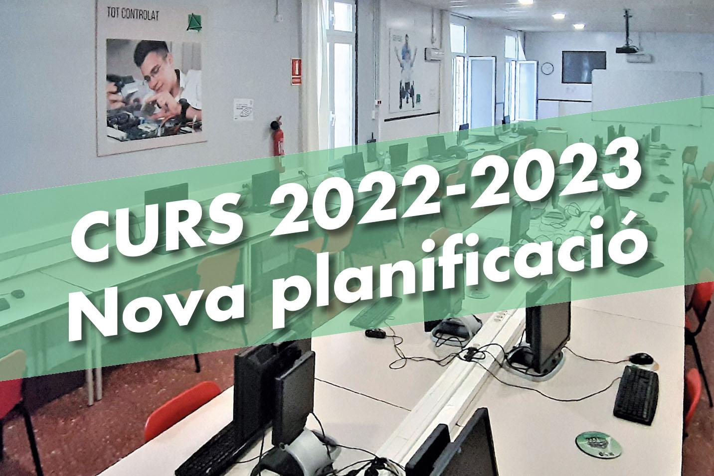 Avís de planificació Bemen-3 curs 2022-23